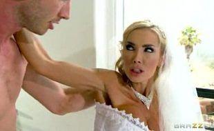 Logo depois do casamento fodendo a sua noiva muito gostosa