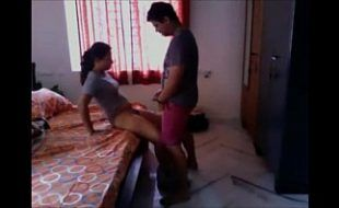 Casal indiano amador em amor